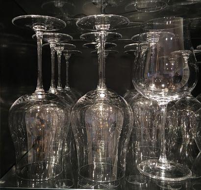 12 verres universels à vin de grande con...