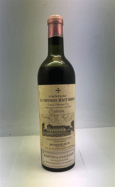 1 bouteille de Château la Mission Haut-Brion...
