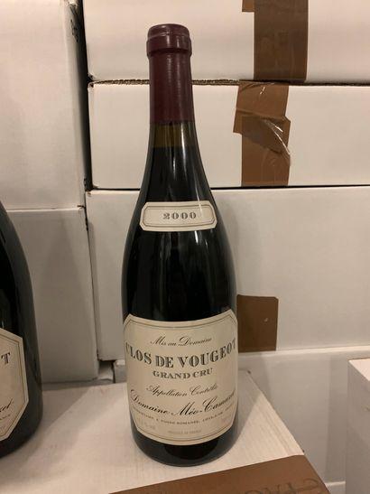 1 bouteille de CLOS DE VOUGEOT GRAND CRU...