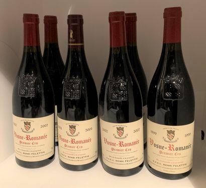 6 bottles of Henri Felettig's VOSNE-ROMANEE...