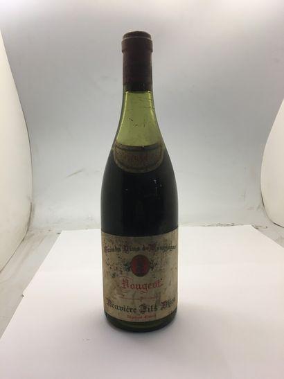 1 bottle of VOUGEOT 1959 by Rouvière Père...