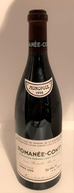 1 bottle of ROMANEE-CONTI 1998 N° 1445