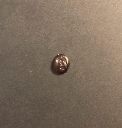 Intaille ovale convexe gravée d'une Victoire...
