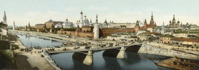 Panorama du Kremlin  Épreuve photographique...