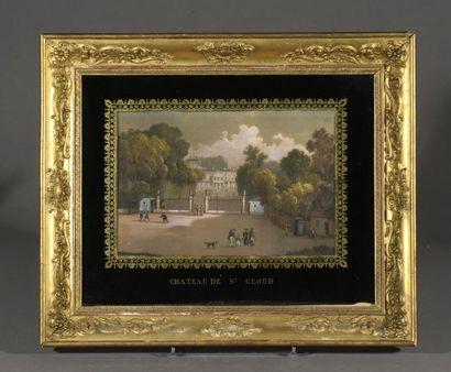 École FRANÇAISE du début du XIXe siècle  Château...