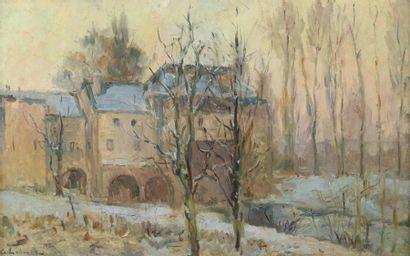 Albert LEBOURG (1849-1928)  Le Vieux Moulin...