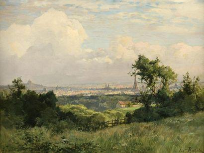 Eugène BERTHELON (Paris 1829-1916)  Vue de...