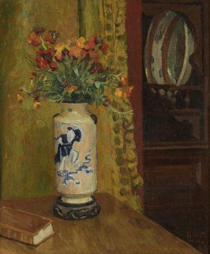Georges Daniel de MONFREID  (1856-1929)  Nature...