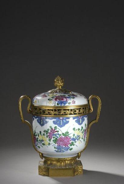 CHINE - Époque QIANLONG (1736-1795)  Pot...