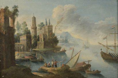 École ITALIENNE de la fin du XVIIIe siècle...