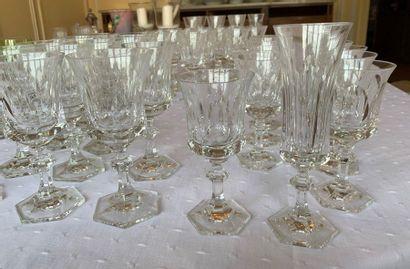 Villeroy et Boch service de verres comprenant...