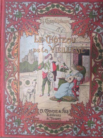 Lot de livres reliés, principalement du XIXème...