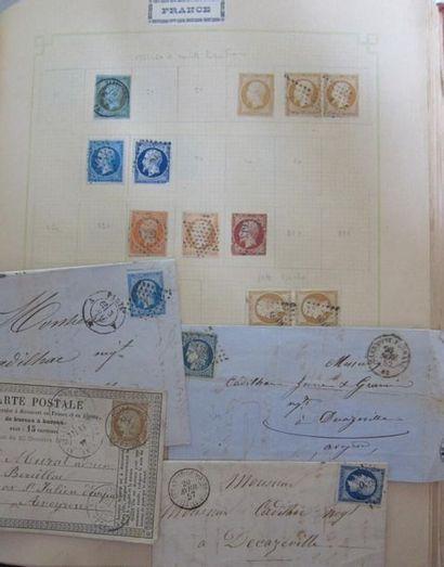Album de timbres France et Colonies