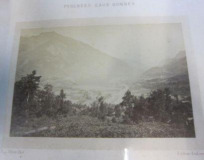 Eugène DELON (act.1869-1890)  Vallée de Laruns...