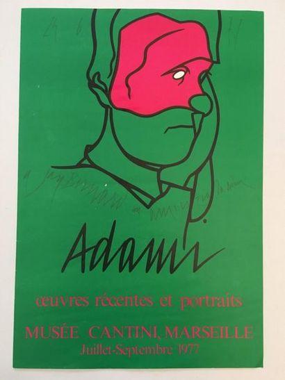 D'après ADAMI (1935-)  Exposition