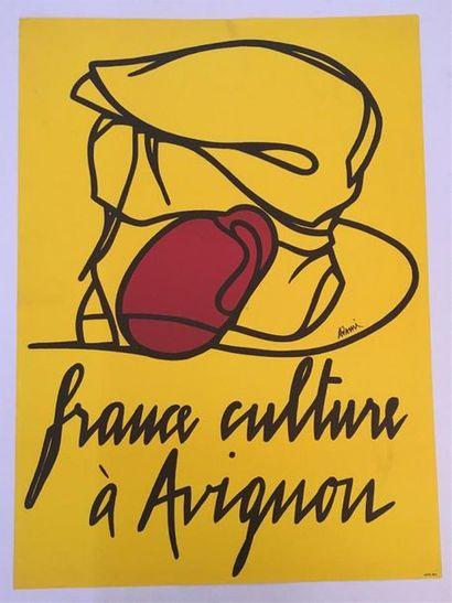 D'après Valério ADAMI (1935-)  Affiche
