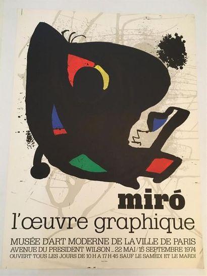 D'après MIRO (1893 - 1983)  Exposition