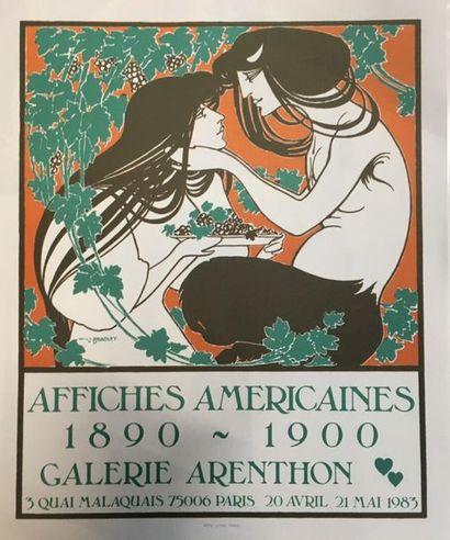 D'après William BRADLEY (1868 - 1962)  Affiches...