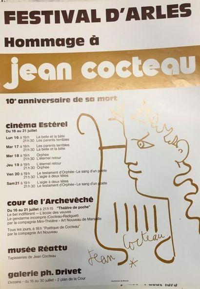 Arles festival, hommage à Jean Cocteau pour...