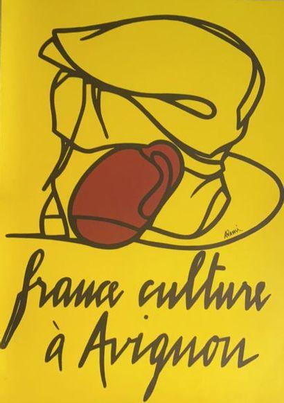 D'après Valerio ADAMI -  France culture à...
