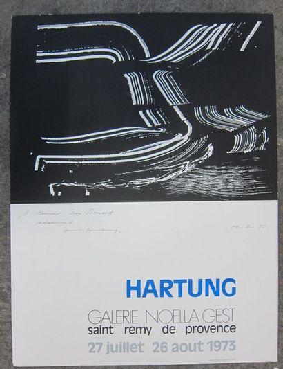 D'après HANS HARTUNG (1904 - 1989) Galerie...