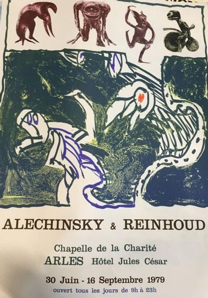 D'après Alechinsky & Reinhoud  Chapelle de...