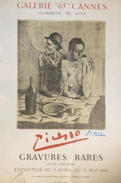 d'après Pablo PICASSO (1881-1973)  Galerie...