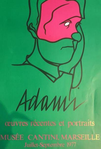 D'après Valerio ADAMI (1935)  Réunion de...