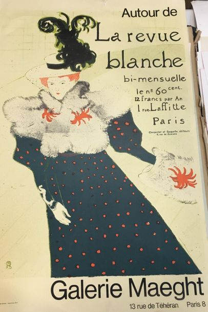Autour de la Revue Blanche à la Galerie Maeght...