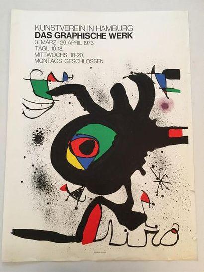 D'après MIRO (1893-1983)  Exposition