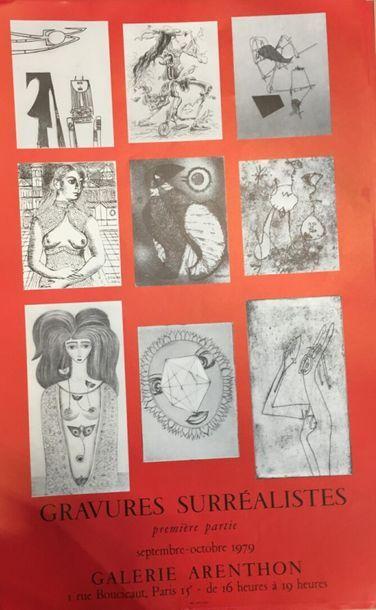 Gravures surréalistes à la Galerie Arenthon...
