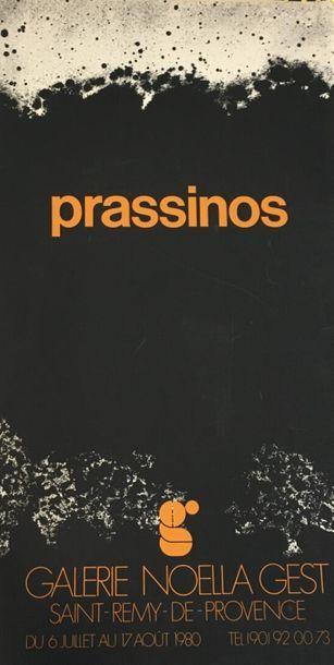 D'après Mario PRASSINOS (1916 - 1985)  Galerie...
