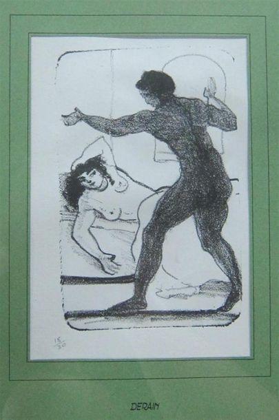 D'après André DERAIN (1880-1954)  Nus dans...