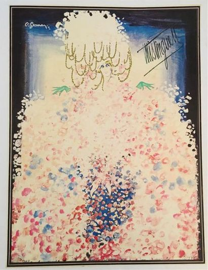 C. GENSMAN  Mistinguette 1922  Impression...