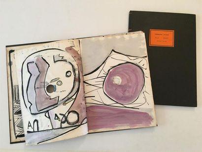 PARE Zaven (né en 1961)  Trois carnets de...