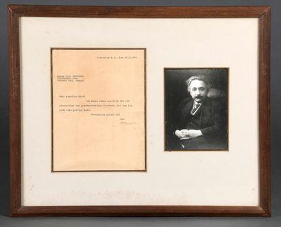 EINSTEIN Albert [Ulm, 1879 - Princeton, 1955],...