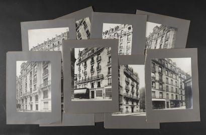 Façades parisiennes, 1910  Onze épreuves...
