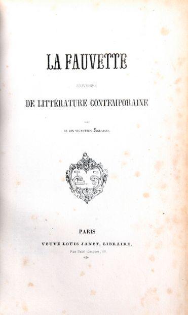 [NERVAL] - La Fauvette. Souvenirs de littérature...