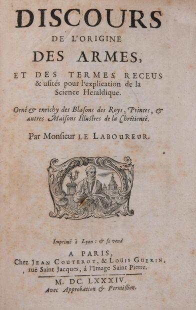 [LE LABOUREUR, Claude] - Discours de l'origine...