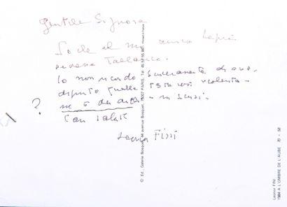 FINI Léonor [Buenos Aires, 1908 - Paris,...
