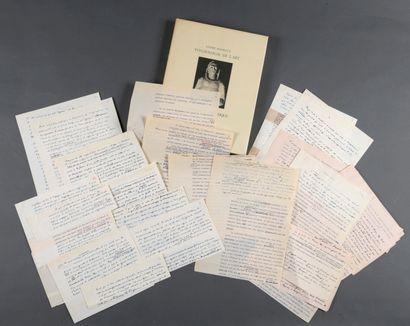 MALRAUX André [Paris, 1901 - Créteil, 1976],...