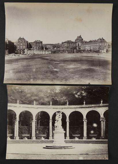Auteur non identifié  Versailles, vers 1860...
