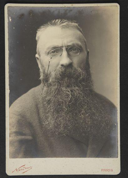 Paul NADAR (1856-1939)  Auguste Rodin à l'époque...