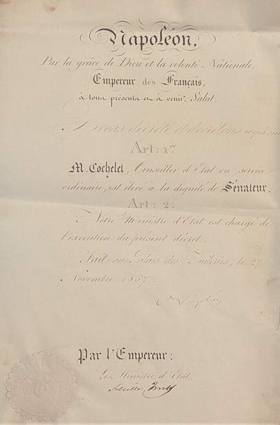 NAPOLÉON III (Charles Louis Napoléon Bonaparte)...