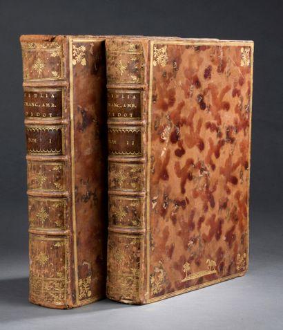 BIBLE - Bibliorum Sacrorum vulgatae versionis...