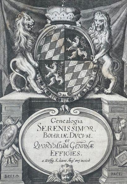 GEWOLD, Christoph - Genealogia serenissimor....