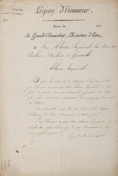 LACÉPÈDE Bernard Germain Étienne, comte de...