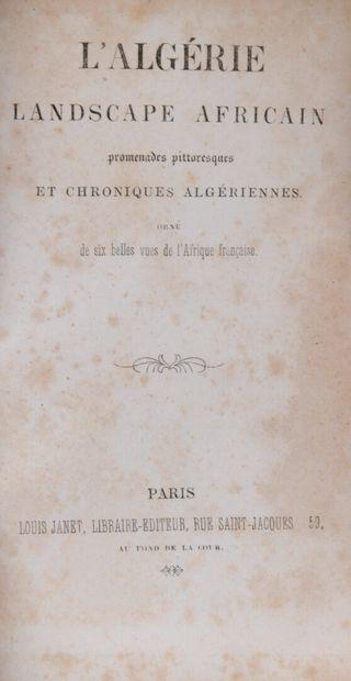 [ALGERIE] - L'Algérie, landscape africain....