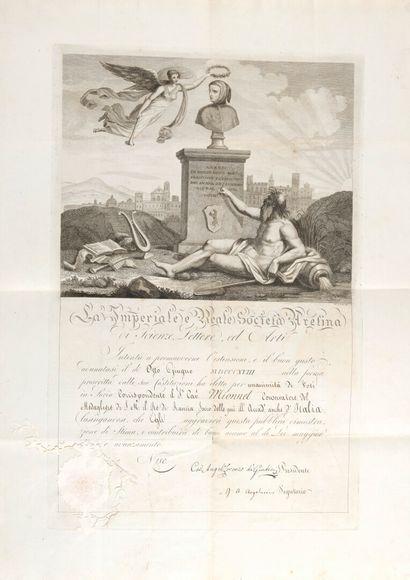 ARCHIVE Théodore-Edme MIONNET [Paris, 1770...