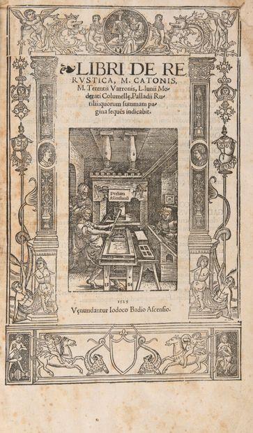 SCRIPTORES REI RUSTICAE - Libri De Re Rustica,...